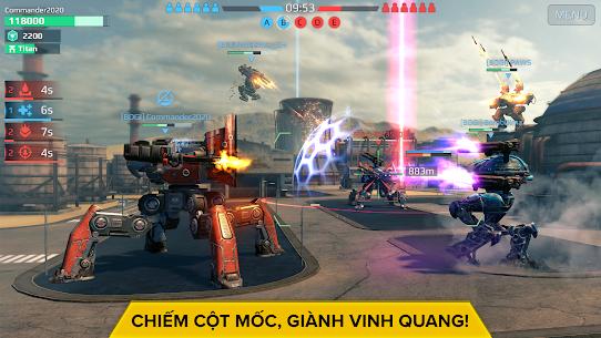 War Robots. Game Chiến thuật Nhiều người chơi 6v6 3