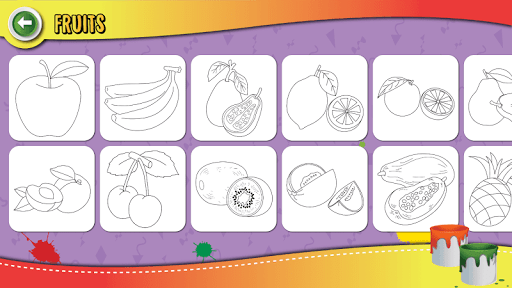Kids Coloring Book Paint & Coloring Games for Kids screenshots 11