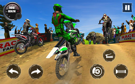 Dirt Track Racing 2020: Biker Race Championship  screenshots 8
