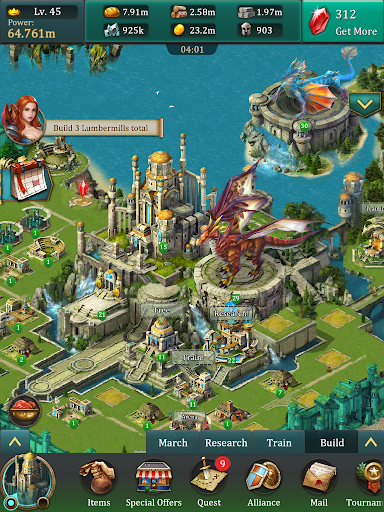 Dragons of Atlantis 10.3.0 screenshots 12