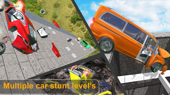 Beam Drive Crash Death Stair Car Crash Accidents apk