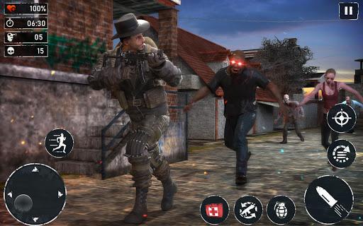 Télécharger gratuit ZOMBIE FPS 2020 - LEFT ALONE 4 DEAD : New Games APK MOD 1