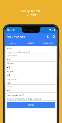 un & ngo jobs screenshot 2