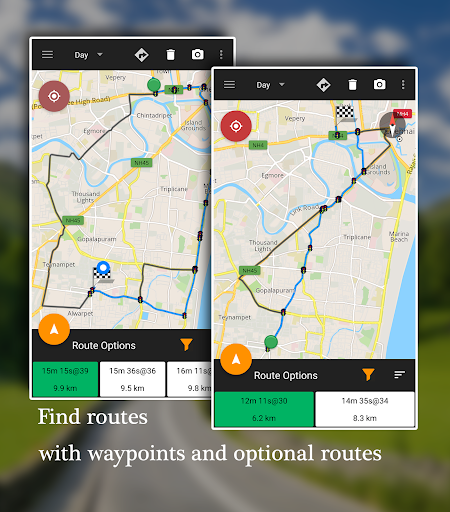 Offline Map Navigation - Live GPS, Locate, Explore 1.3.6.8 Screenshots 2