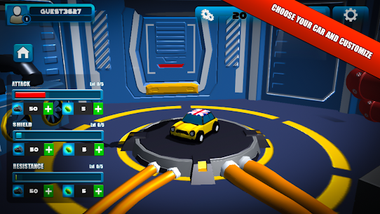 CARS OF BOOM – APK with Mod + Data 3