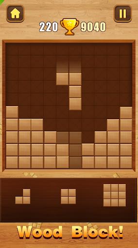 Wood Block Puzzle  Paidproapk.com 1