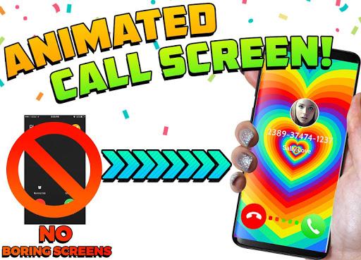 Color Screen Phone, Call Flash Themes - Calloop 3.4 Screenshots 1