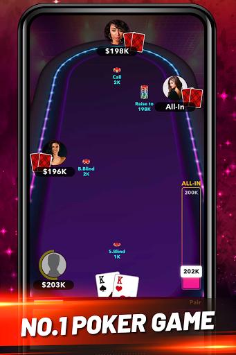 Poker Plus+ Free Texas Holdem Poker Games screenshots 1