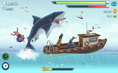 Hungry Shark Evolution MOD APK 8.8.0 (Coins/Gems) 9