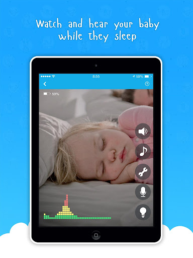 Ahgoo Baby Monitor - audio and video monitoring 2.1.73 Screenshots 8