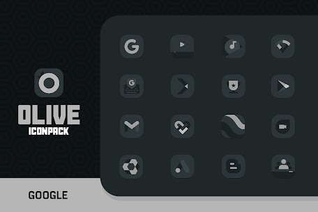 Olive Icon pack Apk 1.2 (Paid) for Android 2