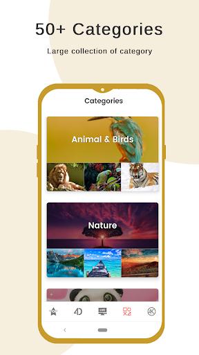 4K Wallpapers - 4D, Live Background, Auto changer 2.4.7.6.3 Screenshots 8