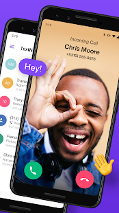 TextNow: Free Texting & Calling App Screenshot