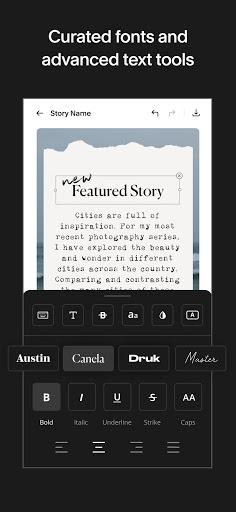 Unfold u2014 Story Maker & Instagram Template Editor apktram screenshots 5