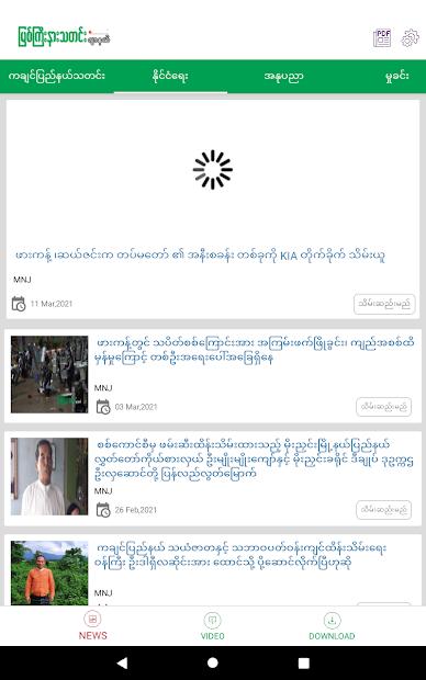 Myitkyina News Journal screenshot 8