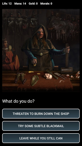 D&D Style Medieval Fantasy RPG (Choices Game) screenshots 6