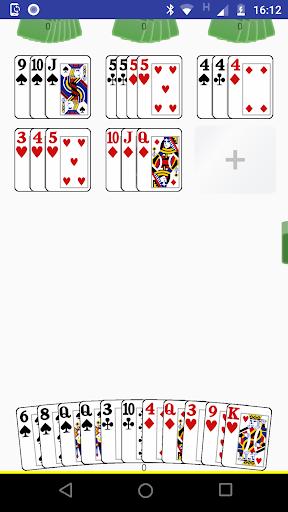 mexe-mexe - jogo de cartas - rummikub com cartas screenshot 2