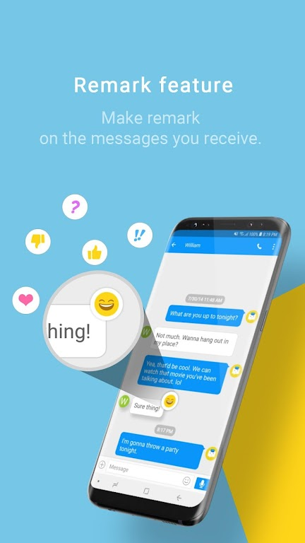 Handcent Next SMS - Best texting w/ MMS & stickers  poster 6