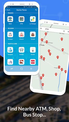 GPS, Maps, Navigate, Traffic & Area Calculating  Screenshots 4