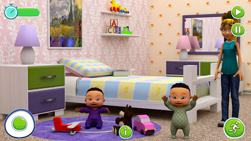 Twin Newborn Baby Care - Babysitter Daycare Game  Pc-softi 2