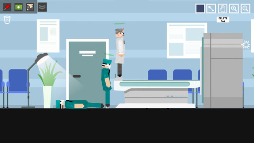 Doctor Surgery Playground: Scanner Ragdoll apktram screenshots 5
