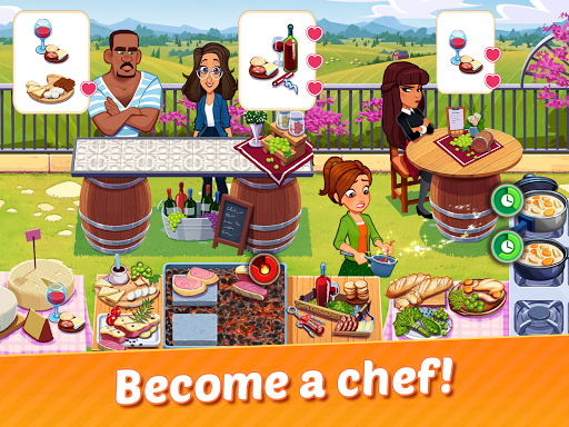 Delicious World - Cooking Restaurant Game goodtube screenshots 15