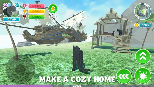 Télécharger Gratuit Panther Family Sim 3D: aventure dans la jungle mod apk screenshots 4