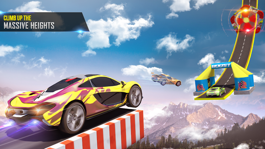 Mega Ramp Car Stunts Racing 2 screenshot 16