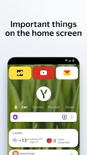 Yandex Browser with Protect 1