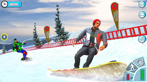 Snowboard Downhill Ski: Skater Boy 3D screenshots 3