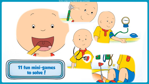 Caillou Check Up - Doctor 1.4 screenshots 2
