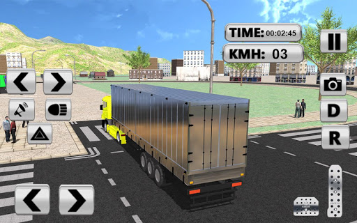 City Truck Pro Drive Simulator screenshots 2