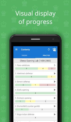 Chess Opening Lab (1400-2000)  screenshots 4
