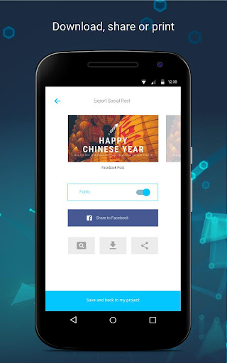 Business Card Maker android2mod screenshots 5