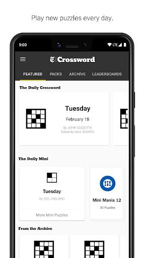 NYTimes - Crossword 4.5.0 screenshots 2