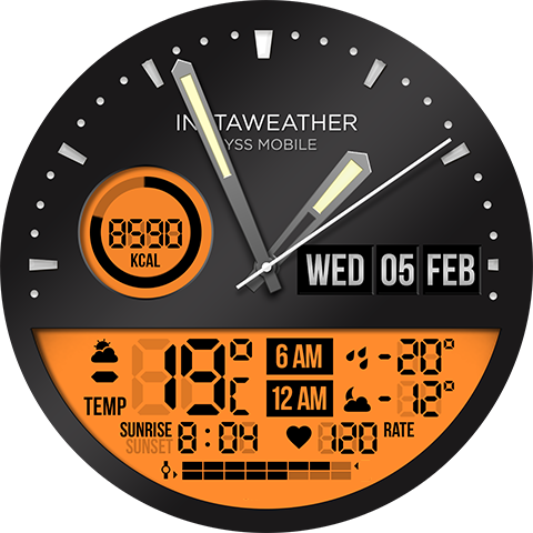 ByssWeather for Wear OS 2.6.1.2 Screenshots 11