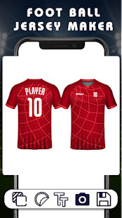 Football Jersey Maker : Football T-Shirt Design