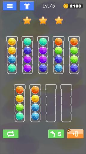 Sort Color Ball Puzzle - Sort Ball - Sort Color  screenshots 23