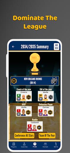 Ultimate Basketball General Manager - Sport Sim 1.2.1 screenshots 16