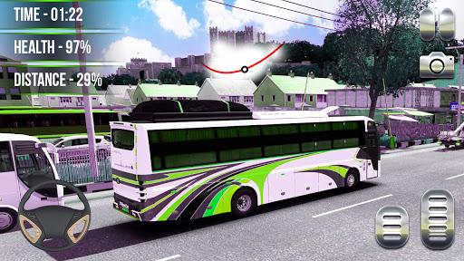 Heavy Bus Simulator 2021:Offroad Cargo Bus Drive  screenshots 7