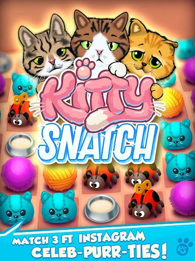 Kitty Snatch - Match 3 ft. Cats of Instagram game screenshots 7