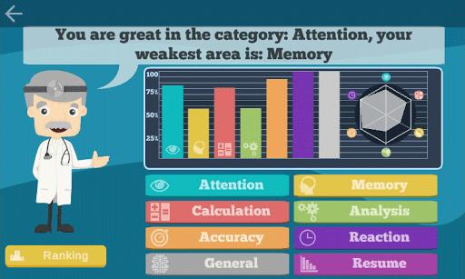 60 Brain Games: Free Mental Training! 56 screenshots 6