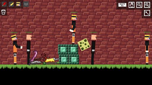 Ninja Star Playground: Ragdoll Fighter android2mod screenshots 3