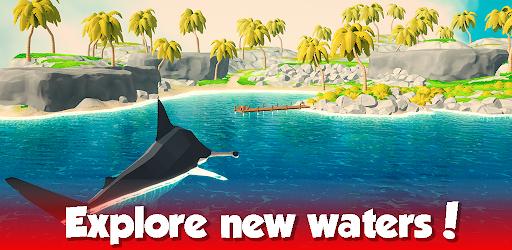 Idle Shark World: Hungry Monster Evolution Game screenshots 3