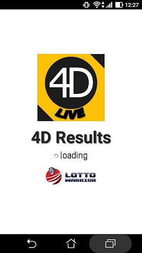 Live 4D Results MY & SG 4.2.1 Screenshots 1