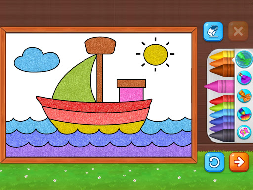 Coloring Games: Coloring Book, Painting, Glow Draw  screenshots 21