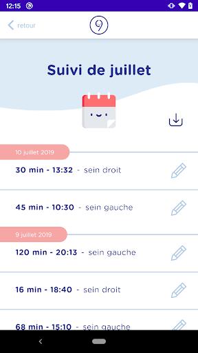 9mois&moi Conseils Grossesse Allaitement android2mod screenshots 4