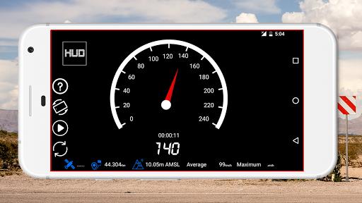 GPS Speedometer : Odometer: Trip meter + GPS speed  Screenshots 4