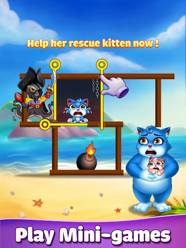 Cat Pop Island: Bubble Shooter Adventure 8.5 screenshots 9
