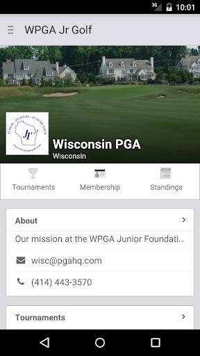 wisconsin pga jr foundation screenshot 1